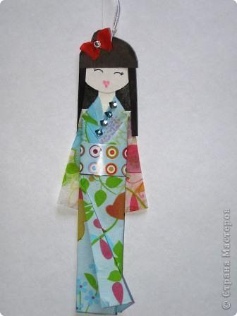"""""""Хина"""" - это маленькая бумажная куколка.  фото 2"""