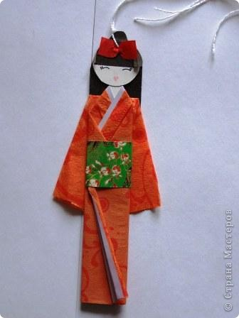 """""""Хина"""" - это маленькая бумажная куколка.  фото 1"""