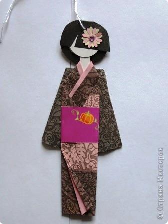 """""""Хина"""" - это маленькая бумажная куколка.  фото 3"""