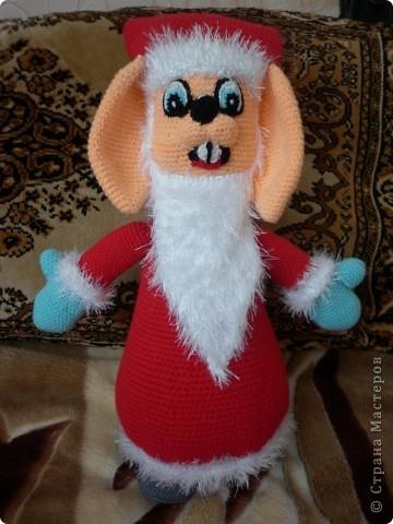 Больное спасибо автору Елене Беловой за такую чудесную игрушку. Рост 40см.