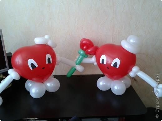 Поделки из воздушного шарика своими руками