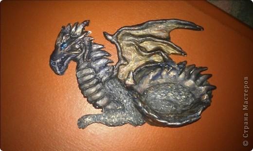 Вот увидела в интернете дракона (http://www.liveinternet.ru/users/nastia_pav/post162703271/) и не смогла устоять. фото 2