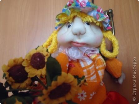 Вот такая кукла полотенница родилась к 8 Марта фото 4