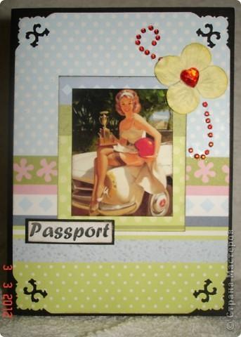 мужская обложка на паспорт фото 3