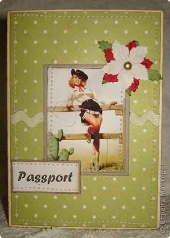 мужская обложка на паспорт фото 7