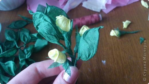 По просьбам желающих сделала МК Деревца из роз.Сразу оговорюсь, своего почти ничего не выдумала,всё нашла в нашей Стране,отличный МК роз есть у ...Валентины...,огромное ей СПАСИБО! Просто покажу как это делаю я. Итак начнём... фото 20