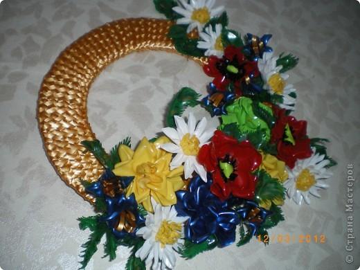Цветы из бутылок фото 1