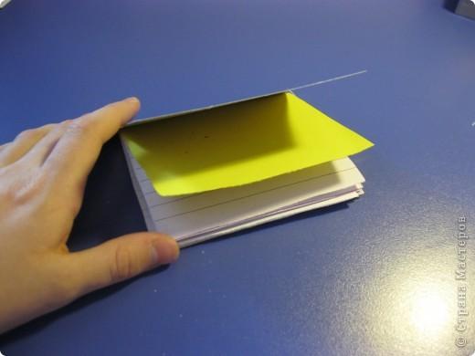 предлагаю сделать такую телефонную книгу или просто блокнотик. фото 3