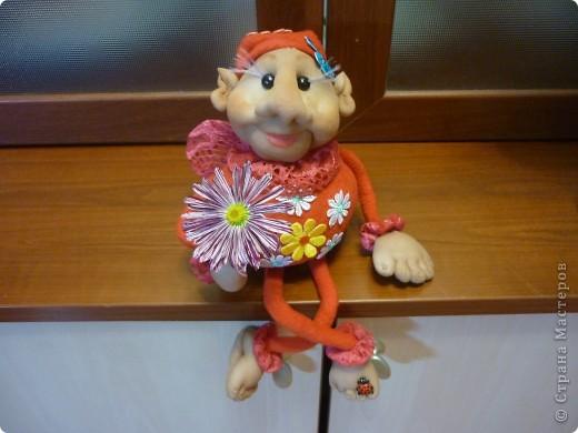 цветочный Фей по МК Елены Лаврентьевой фото 1