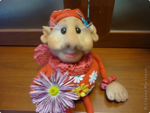 цветочный Фей по МК Елены Лаврентьевой фото 2