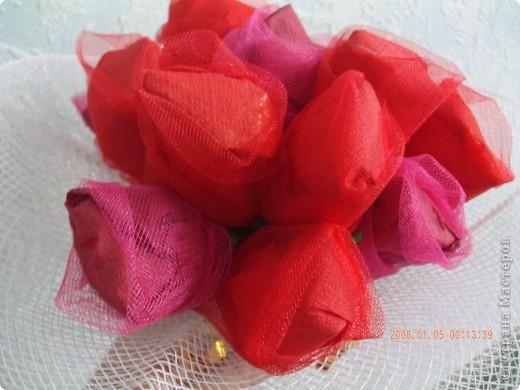 Букет получился небольшой, на 15 шоколадных  конфет ШАРМ. фото 2