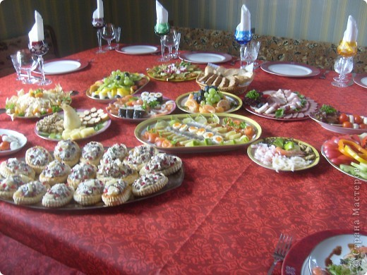 Вот так я решила оформит тарелку с роллами и суши ... фото 4