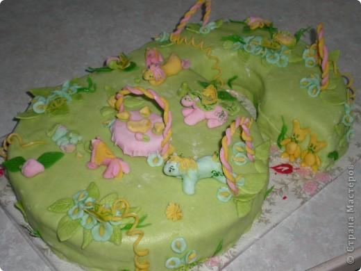 ...вот такой тортик... фото 6