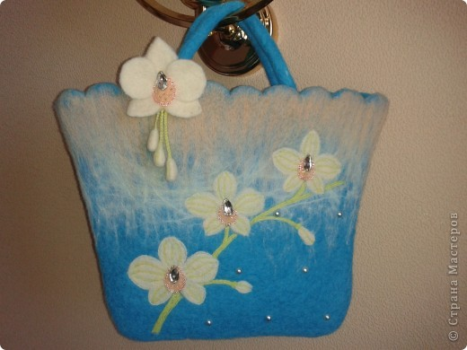 Весна вдохновила меня на создание вот такой сумочки))) фото 1