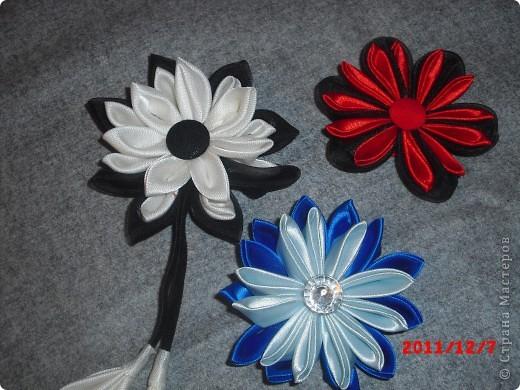 Ободок, роза на пояс, и цветы в корзинку. фото 3