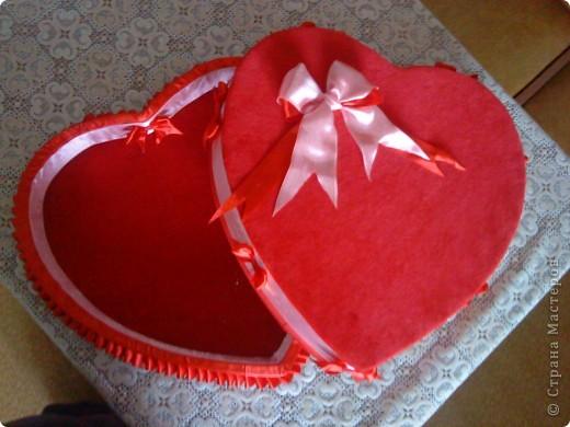 Шкатулка Сердечко фото 2