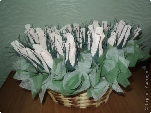 Букеты из конфет. фото 7
