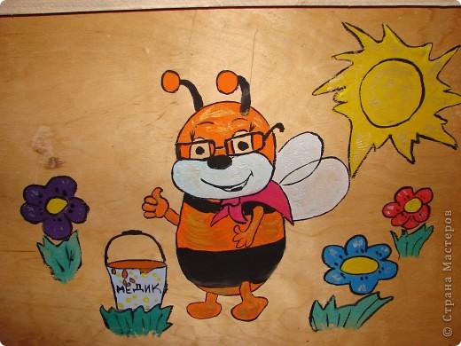 Подарок для папы.Украшение пчеловодного инвентаря . фото 2