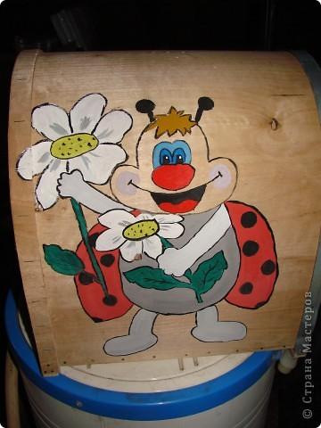 Подарок для папы.Украшение пчеловодного инвентаря . фото 4