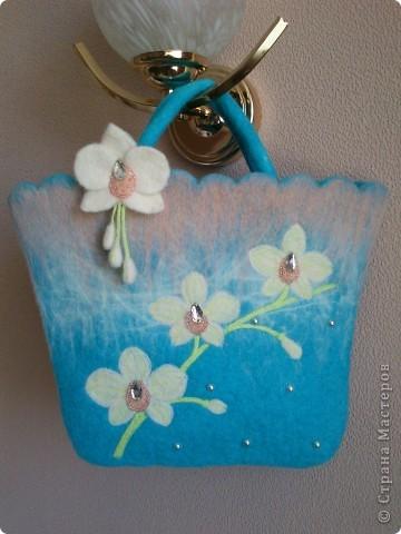 Весна вдохновила меня на создание вот такой сумочки))) фото 2