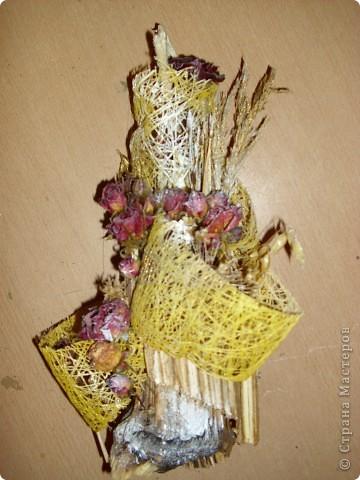 композиция в самодельной вазе фото 2