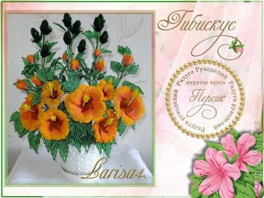 Очередной цветок, выполненный на радуге)))