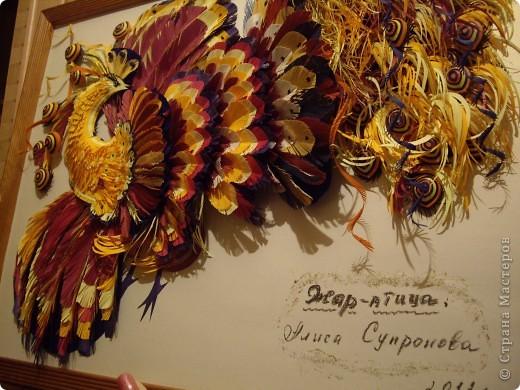 Жар-птица, подражание Ольге Рябовой :-). фото 2