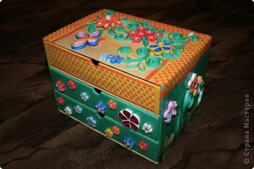 Общий вид коробочки фото 1