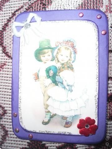 Такая серия карточек получилась у меня фото 7