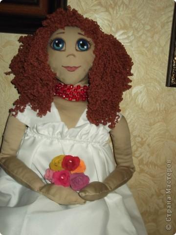 моя первая тряпочная кукла фото 1