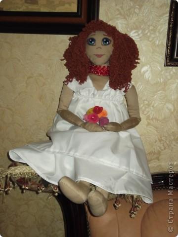 моя первая тряпочная кукла фото 2