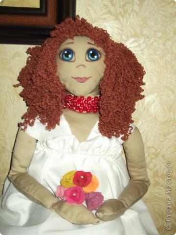 моя первая тряпочная кукла фото 3