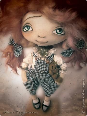 Текстильная кукла - Веснушка, Страна Мастеров