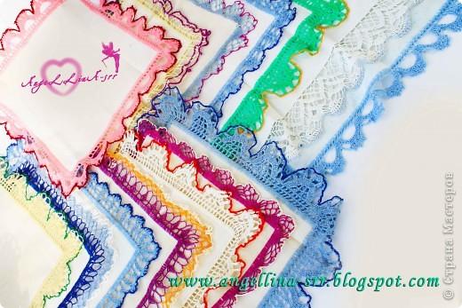 Овбязанные носовые платочки фото 2