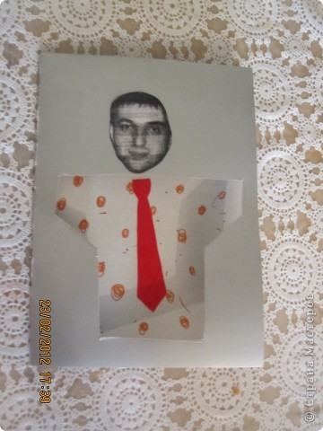 открытки на 14 февраля. я распечатала картинки, вырезала сердечки, предложила сыну зарисовать внутреннею часть открытки. фото 6