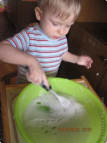 Ну очень интересно наливать цветную воду в стакан!!!! фото 3