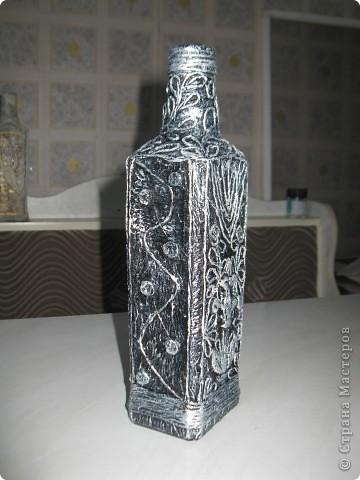 Бронзовая бутылочка. фото 3