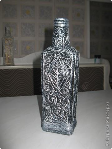 Бронзовая бутылочка. фото 4