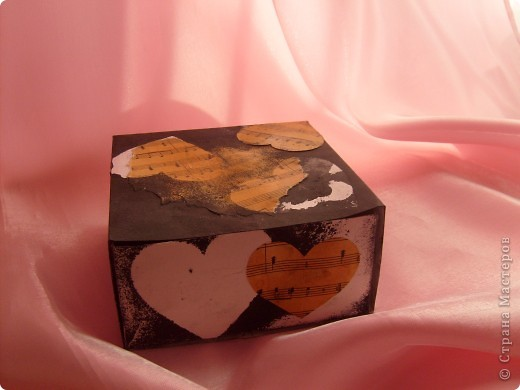 Не совсем шкатулка скорее коробка для мелочей фото 1