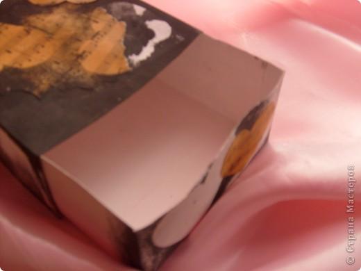 Не совсем шкатулка скорее коробка для мелочей фото 3
