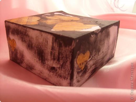 Не совсем шкатулка скорее коробка для мелочей фото 4