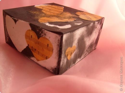 Не совсем шкатулка скорее коробка для мелочей фото 5