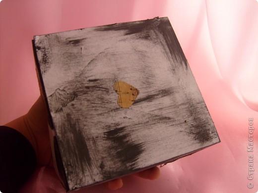 Не совсем шкатулка скорее коробка для мелочей фото 6