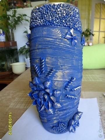 вот такая ваза и сахарница у меня получилась. фото 2