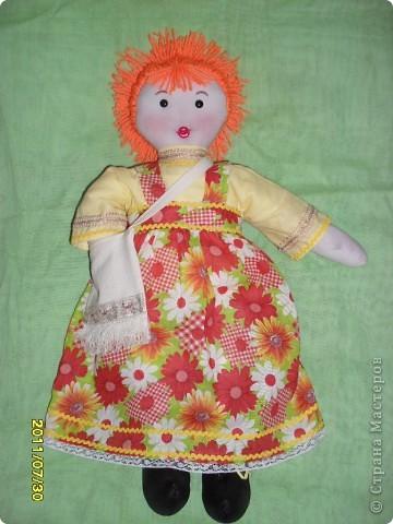 игровая кукла Маша-моя первая кукла фото 1