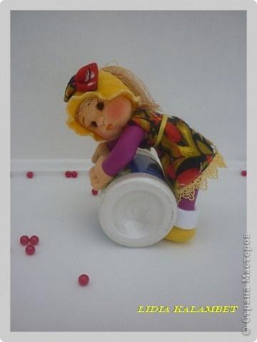 Игровая развивающая куколка. МК. фото 2
