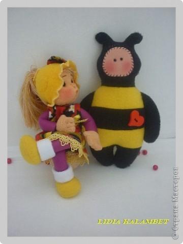 Игровая развивающая куколка. МК. фото 1