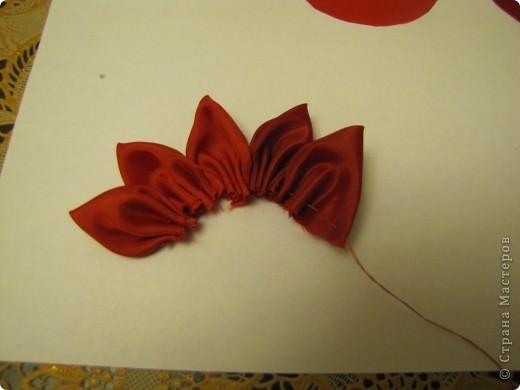 Вот такой цветочек будем делать...... фото 6
