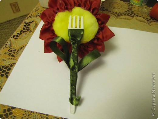 Вот такой цветочек будем делать...... фото 11