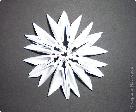 Мастер-класс Поделка изделие Оригами китайское модульное Северный Олень Бумага фото 4